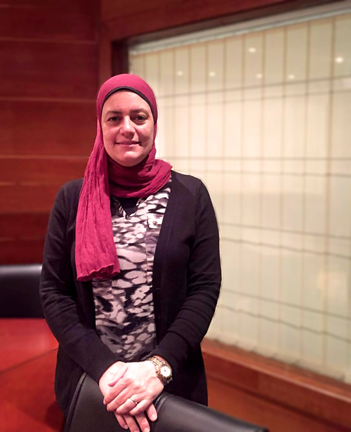 Dalia Ali, Senior Human Resources and Administration Manager